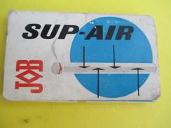 Carnet De Feuilles Papier à Cigarette/JOB/Sup-Air/Papier Aéré/Nouveauté Sentationnelle/Sté Job Paris/Vers 1950-60  CIG32 - Tabac (objets Liés)