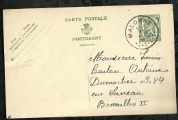 ENTIER POSTAL . CARTE POSTALE DATEE DU  :  21  JUIN  1938 . - Entiers Postaux