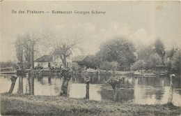 STRASBOURG - île Des Pêcheurs, Restaurant Georges Scherer. - Strasbourg