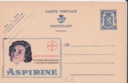 PUB  N°555 - Aspirine Tête - FR/NL - Publibels