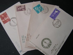 India Lot  4 FDC - FDC