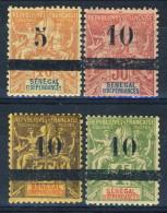Senegal 1903 Serie N. 26-29 MLH Molto Freschi Catalogo € 200 - Unclassified