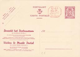 """CP N° 34 M1 - Bezoekt Het Postmuseum - NL/FR - """"+25c"""" - Entiers Postaux"""