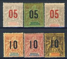 Senegal 1912 Serie N. 47-52 MH Catalogo € 21 - Unclassified