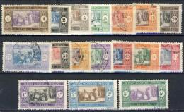 Senegal 1914 - 17  Serie N. 53-69 Usati Catalogo € 13,20 - Unclassified