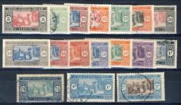 Senegal 1922 - 26 Serie N. 72-86 Usati Catalogo € 11,20 - Unclassified