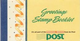 Ireland 1990 Greetings Booklet ** Mnh (33653) - Cuadernillos/libretas