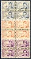 Senegal 1939 Serie N. 150-152 Quartine MNH Catalogo 13 - Unclassified