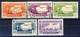 Senegal Posta Aerea 1935 Lotto Di 5 Valori Misti Catalogo € 2 - Unclassified