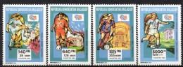 Madagascar - 1992 - Yvert N° 1082 à 1085 **  - Coupe Du Monde Football Etats-Unis - Madagascar (1960-...)