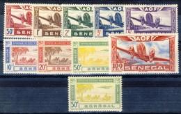 Senegal Posta Aerea 1942 Serie N. 22-30 MNH Catalogo € 12 - Unclassified