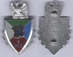 Insigne Du 2e Régiment De Commandement Et De Soutien - Hueste