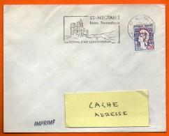 ST NECTAIRE  ART CONTEMPORAIN    7 / 12 / 1966  Lettre Entière  N° BB 547 - Marcophilie (Lettres)