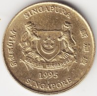 @Y@    Singapore  5 Cent 1995     (3799) - Singapore