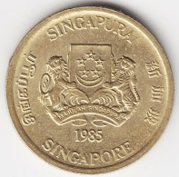 @Y@    Singapore  5 Cent 1985     (3801) - Singapore