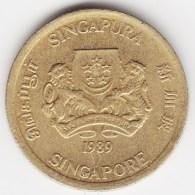 @Y@    Singapore  5 Cent 1989     (3802) - Singapore