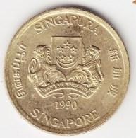 @Y@    Singapore  5 Cent 1990     (3804) - Singapore