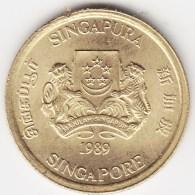@Y@    Singapore  5 Cent 1989     (3806) - Singapore