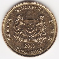 @Y@    Singapore  5 Cent   2003     (3808) - Singapore