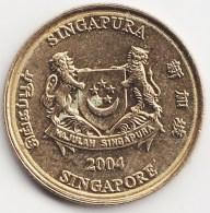 @Y@    Singapore  5 Cent   2004     (3810) - Singapore