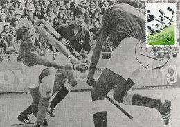 D26982 CARTE MAXIMUM CARD RR FD 1973 NETHERLANDS - WORLD CHAMPIONSHIP FIELD HOCKEY AMSTELVEEN CP ORIGINAL - Hockey (Field)