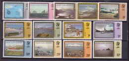 Falkland Is. Dependencies 124/136 MNH LANDSCAPE PAESAGGI MNH - Falkland