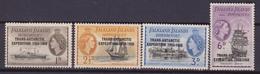 Falkland Is. Dependencies 66/69 NAVI SHIPS MNH - Falkland