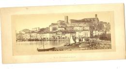 Cannes Vue Panoramique Vieille Ville Photographie Lucchesi Nice ( La Photo Hors Support Carton : 22 Cm / 9 Cm ) - Photos