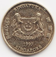 @Y@    Singapore  5 Cent   1997      (3819) - Singapore