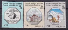 SOUTH GEORGIA SOUTH SANDWICH INT. GEOPHYSICAL YEAR 181/83 MNH - Georgia Del Sud
