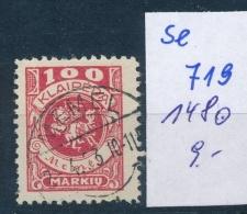 Memel      Nr. 146    O    ( Se 719   )  Siehe Scan - Klaipeda