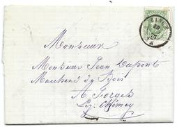 L. Affr N°30 Dc RANCE/1875 Pour Forges TTB - 1869-1883 Leopold II.