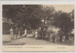 Blangy-sur-Bresle  Un Coin Du Marché Aux Porcs - Unclassified