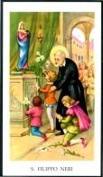 Santino - S. Filippo Neri - Con Preghiera, Come Da Scansione - Images Religieuses
