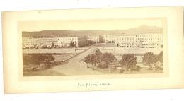 Nice Vue Panoramique Pont Neuf Et Place Massena ( La Photo Hors Support Carton : 22 Cm / 9 Cm ) - Photos