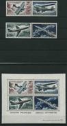 1962 Gabon, Evoluzione Trasporto Aereo Aerei Volo, Serie Completa Nuova (**) - Gabon (1960-...)
