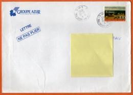 MAURY N° 2960   BARBIZON    Lettre GRAND FORMAT N° Z 915 - Marcophilie (Lettres)