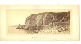 Nice Vue Panoramique  Rocher Rauba Capeu  ( La Photo Hors Support Carton : 22 Cm / 9 Cm ) - Photos