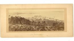 Cannes Vue Panoramique Pointe Saint Honorat  ( La Photo Hors Support Carton : 22 Cm / 9 Cm ) - Photos