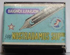 BOITE DE 100 PLUMES  BAGNOL&FARJON 3448 NOSTRADAMMUS SUPÉRIEURE - Plumas