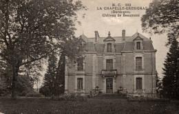 CPA RARE LA CHAPELLE GRESIGNAC CHATEAU DE BEAUMONT - Autres Communes