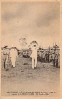 Guerre 39/45  Brazzaville Arrivée Du Général De Gaulle Dans La Capitale De La France Libre 24 Octobre 1940 - Weltkrieg 1939-45