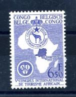 1955 CONGO BELGA SERIE COMPLETA MNH** - Congo Belga