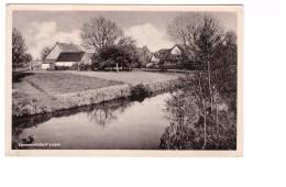 Allemagne Spreewald Spreewalddorf Leipe + 2 Timbres Timbre Cachet Lubbenau Spreeewald 1955 - Luebbenau
