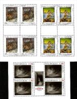 Czech Republic - 2014 - Art On Stamps - Jakub Schikaneder, Jaromir Funke, Salvador Dali - Mint Miniature Sheets Set - Ungebraucht