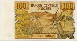 Algérie, 100 Dinards 1970 (état Super TTB - Algeria