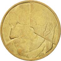 Belgique, 5 Francs, 5 Frank, 1988, TTB+, Brass Or Aluminum-Bronze, KM:163 - 1951-1993: Baudouin I