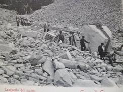 CPA Italie Italia Toscana Carrara Transporto Di Marmi - Carrara