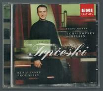 CD PIANO - TCHAIKOVSKY / SCRIABINE /STRAVINSKY / PROKOFIEV - SIMON TRPCESKI, Piano - Klassik