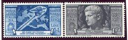 1937-ITALIA- AUGUSTO P.A. - 2 VAL.-M.N.H.-LUXE ! ! - Nuevos